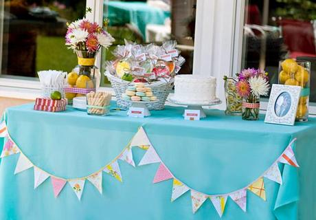PHOTOS // Retro Citrus Bridal Shower