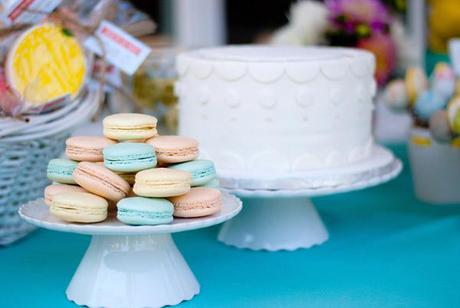 PHOTOS // Retro Citrus Bridal Shower