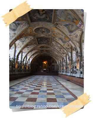 Where the former Bavarian King lived: Residenz Munich