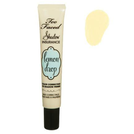 Bright Eyed Beauty: Too Faced Lemon Drop Shadow Insurance Correcting Primer