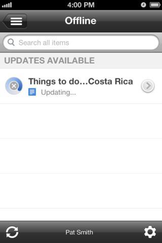 Google Drive App for iOS