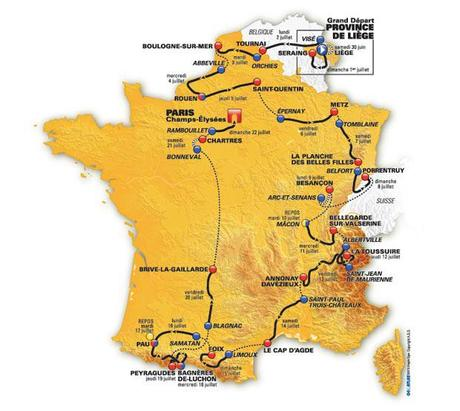 The 2012 Tour de France Begins Tomorrow!