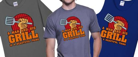 bbq, grilling, summer, food, t-shirt