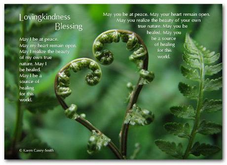 Lovingkindness Blessing by Karen Casey-Smith (5x7 layout)