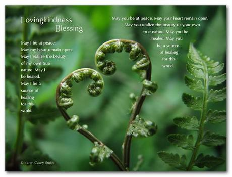 Lovingkindness Blessing by Karen Casey-Smith (9x12 layout)