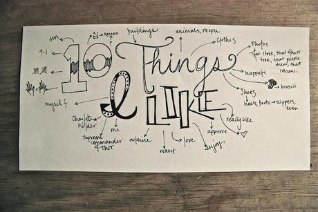 10 Things I Like: Weekend Edition, Volume VI (Summer!!)