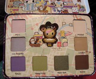 Tokidoki Airways Palette