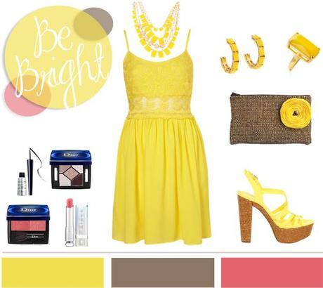 Yellow + Lace…