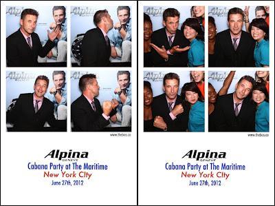 Actor & Global Alpina Brand Ambassador, William Baldwin, Celebrate Alpina Geneve's 2012 Diver Collection