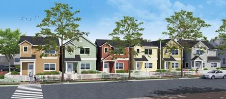 Evandale Residential Building Renderings California