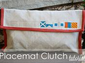 Placemat Clutch...with Nautical Twist TUTORIAL