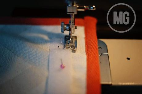 placemat clutch...with a nautical twist - TUTORIAL
