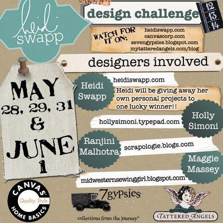 Heidi Swapp Design Challenge...my project