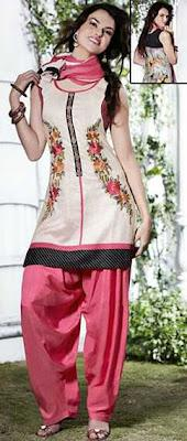 Nakshatra Designer Wear Fashion Dresses 2012