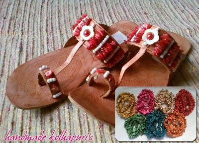 Latest Kolhapuri Ladies Shoes Collection 2012 For Eid