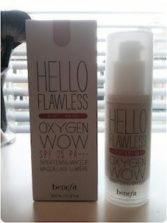 Benefit Hello Flawless Oxygen WOW Foundation Review...