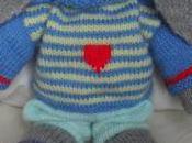 Oscar Knitted Rabbit