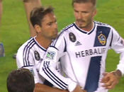 David Beckham Fights with Mascot During Match, After News That Won't Team