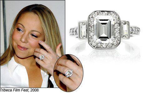 mariah careys gorgeous diamond ring - Mariah Carey Wedding Ring