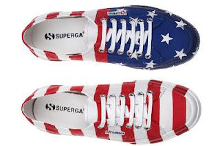 Superga 2750 Cotu Flag Sneaker