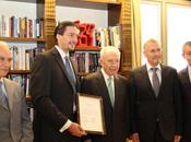 Meets Shimon Peres Center Peace