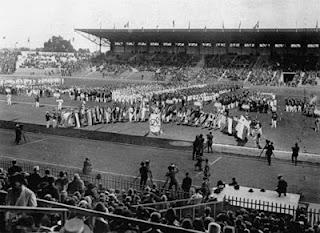 1924 Summer Olympic Opening Ceremony - Paris