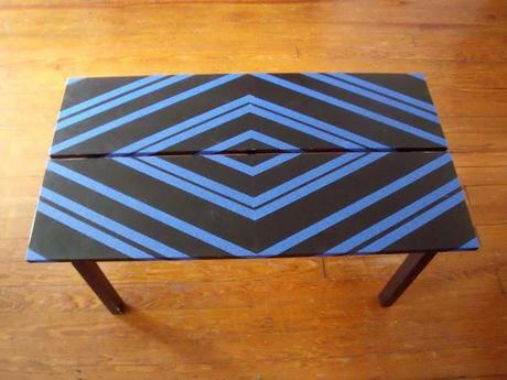 Simple Geometric Coffee Table