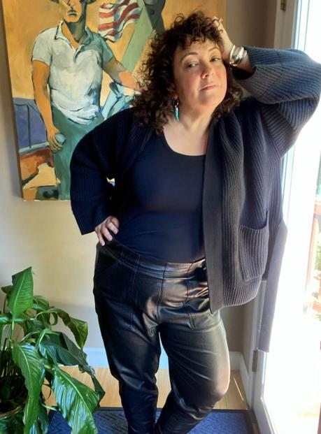 Spanx Faux Leather Joggers Review
