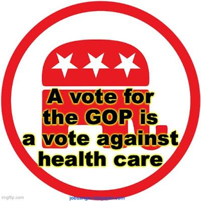 Voting For The GOP, Is Voting Against Health Insurance