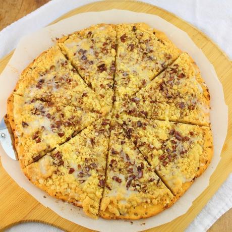 Fresh Roasted Pumpkin Pizza #PumpkinWeek