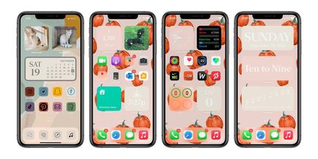I made my IOS14 aesthically pleasing with new homescreens and here's how you can do too