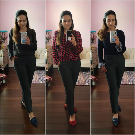 Three Ways Cropped Trousers