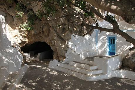 Santorini Caves