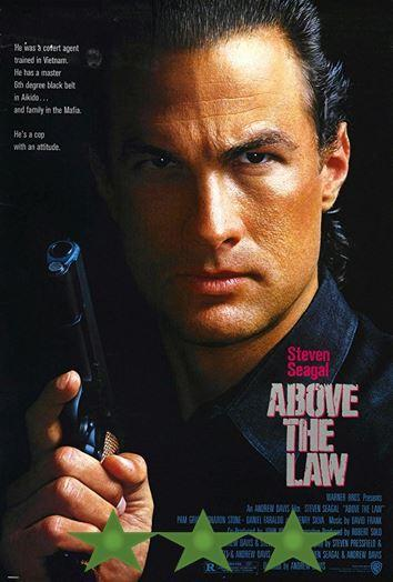 ABC Film Challenge – 80s – Z – Above the Law (1988)