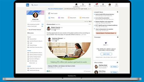 LinkedIn Has a New Look With Improved Search Experience