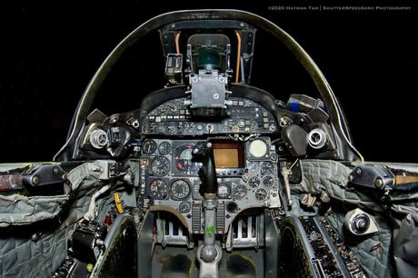 McDonnell Douglas A-4M Skyhawk Cockpit