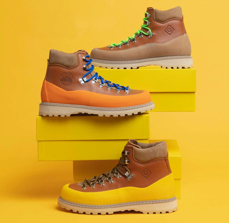 GANT Pursues First Footwear Collaboration in Partnership with Diemme