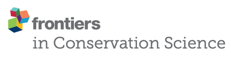 New journal: Frontiers in Conservation Science