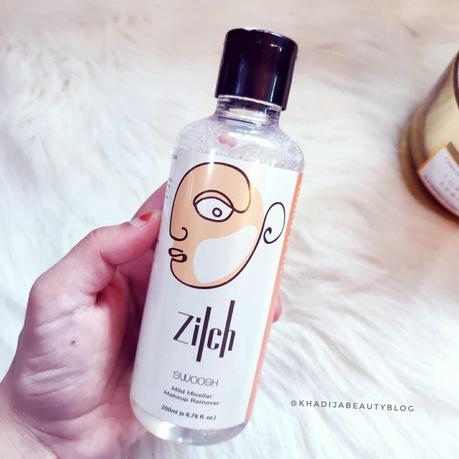 Zilch Mild micellar makeup remover