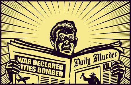 Media Sensationalism in a Not-So-Sensational Time