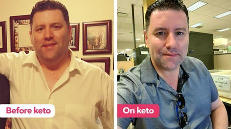 Adam 'struggled to keep weight off' until he tried keto