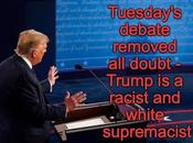 Trump Didn't Disavow White Supremacy Encouraged