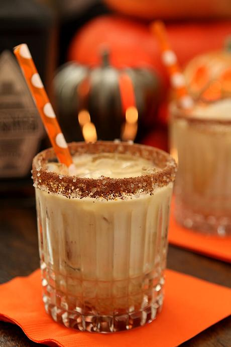 Tequila, Kahlua, and Cream Cocktail