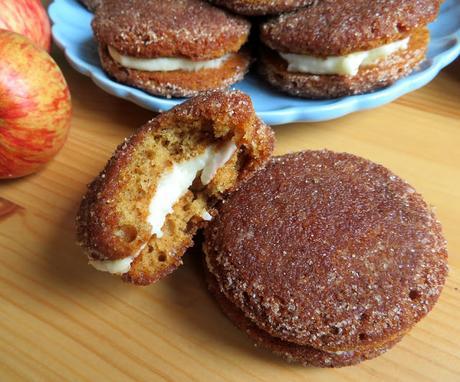 Apple Cider Donut Whoopie Pies