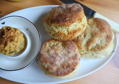 Quick & Easy Buttermilk Biscuits for Two