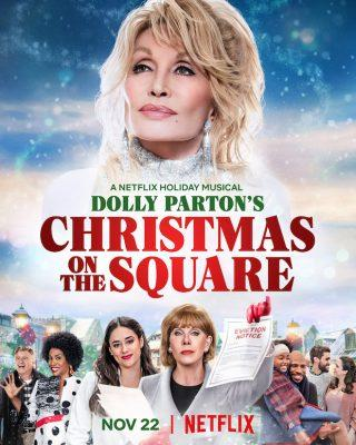 Dolly Parton Netflix Christmas Movie Musical Premieres Nov. 22nd