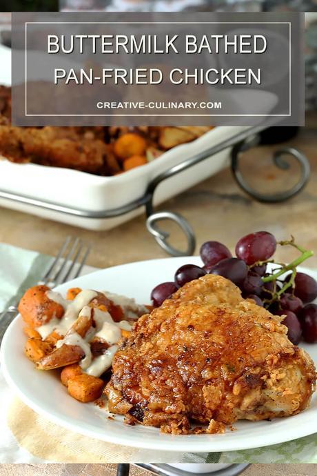 Buttermilk Pan Fried Chicken