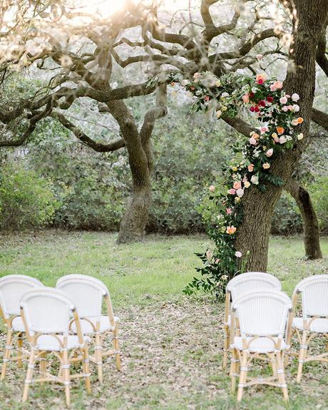 micro wedding venues ceremony park with flowers julie wilhite