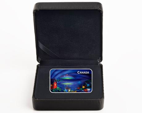 Brilliant Vision of a UFO Comes to Life With the New Royal Canadian Mint Collector Coin