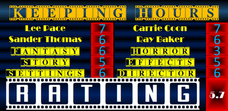 ABC Film Challenge – Horror – K – The Keeping Hours (2017) Movie Review